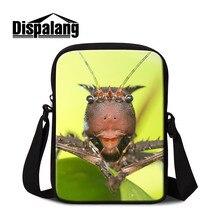 Марка dispalang, на заказ Детские сумки на плечо для школы Милая Мини сумка через плечо с молнией гексапод на одно плечо кошелек для мальчика