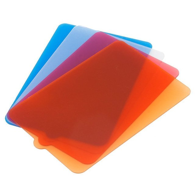 Ulanzi YONGNUO Original Light Filter Color Temperature Red U0026 Blue Diffuser  Gels For YONGNUO YN300 III