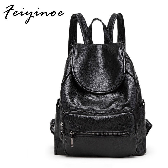 2018 Korean shoulder bag female new fashion backpack new PU factory outlet  inexpensive 93727c1d5fb19