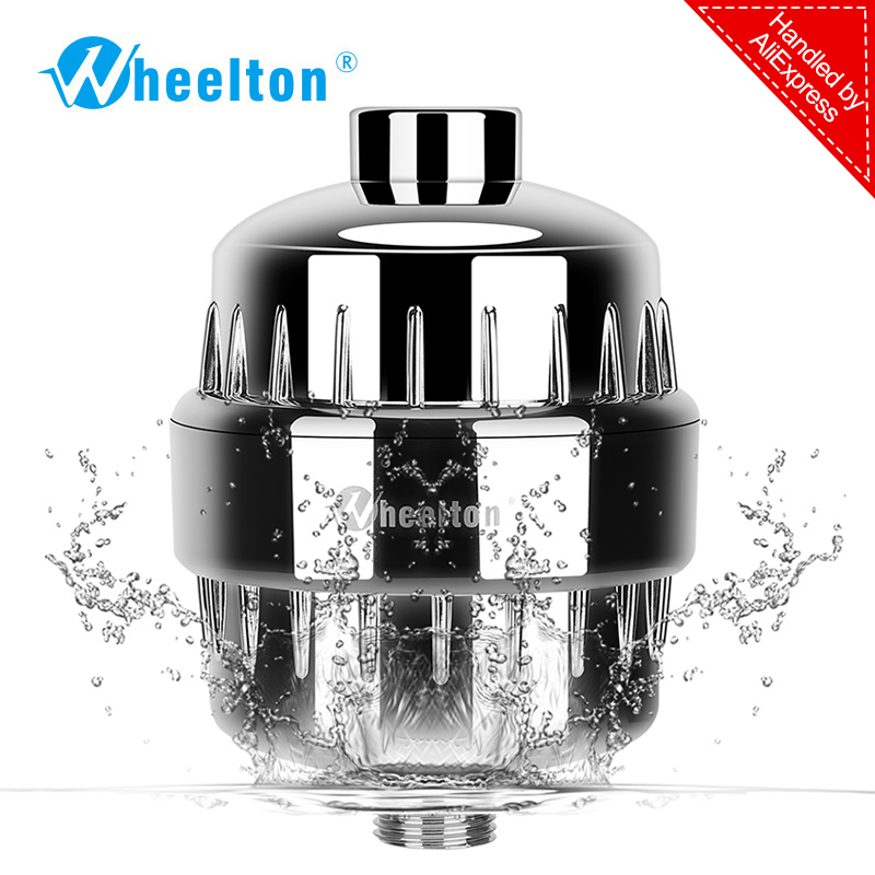 In-line bathroom Shower Filter bathing water filter purifier water treatment Health softener Chlorine Removal Free Shipping коврик для мышки printio metallica flag