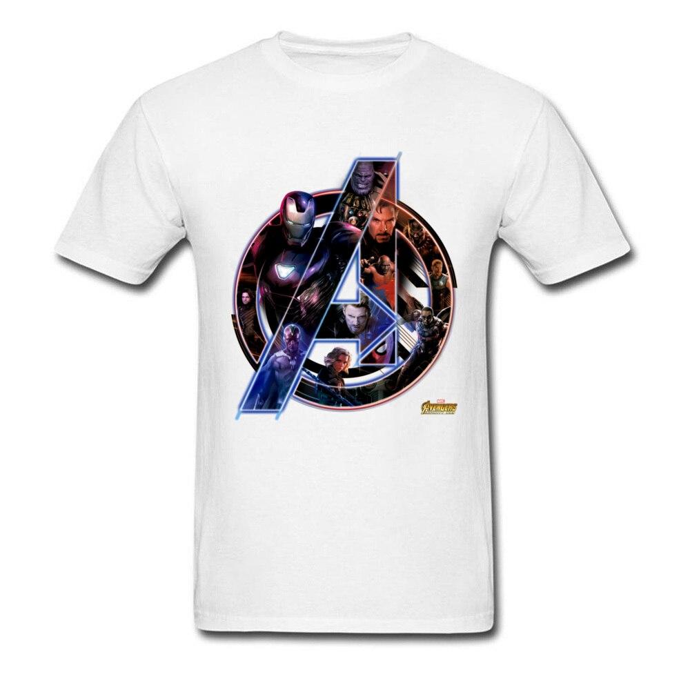 Hot Marvel T Shirt Avengers 3 Mens Superhero League Tshirt I