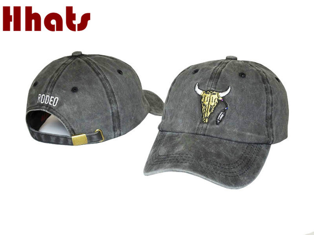 eabf81d53 US $5.6 15% OFF|which in shower Fashion White Red Black Gray Brand Baseball  Cap Hip Hop Snapback Dad Hat Travis Scotts RODEO Hat For Women Men-in ...