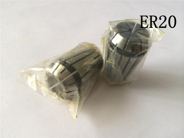12mm ER20 Spring Collet Chuck Tool Bit Holder For CNC Milling Lathe Chuck NEW