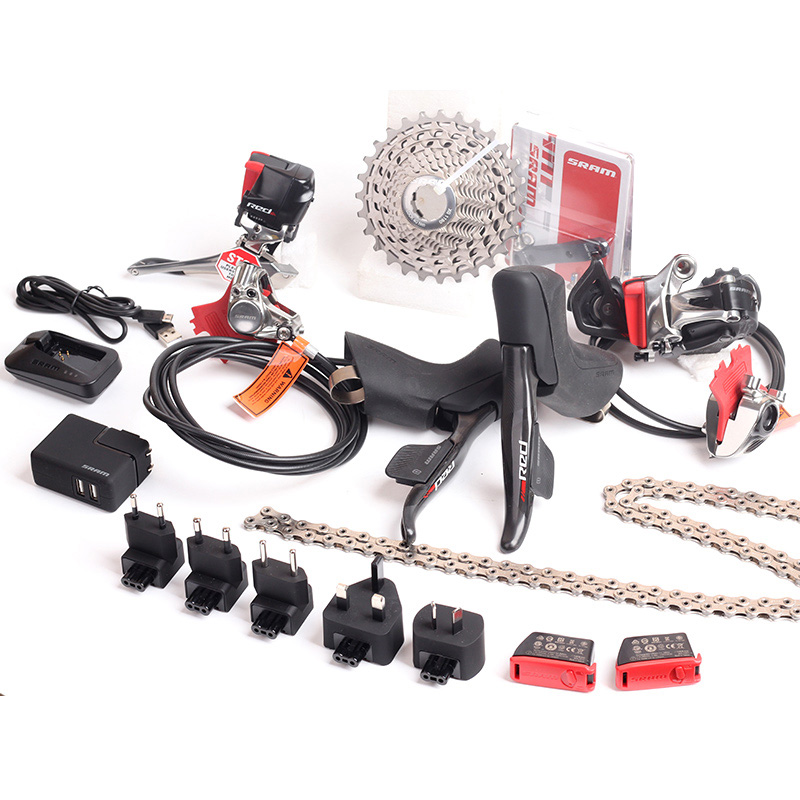 SRAM RED eTap Wireless Electronic Kit 2x11S Speed Hydraulic Disc Brake Groupset BB30 BB386 цены