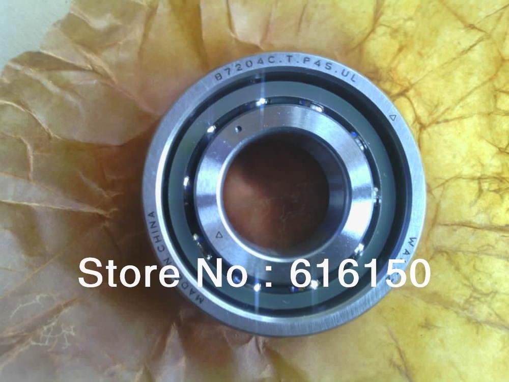 Roulements à billes à Contact oblique de broche de 20mm B7204 C T P4S UL 20x47x14mm P4 7204 7204C 7204AC ABEC-7