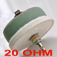 100 Вт 20 Ом высокомощный проволочный потенциометр, реостат, переменный резистор, 100 Вт.