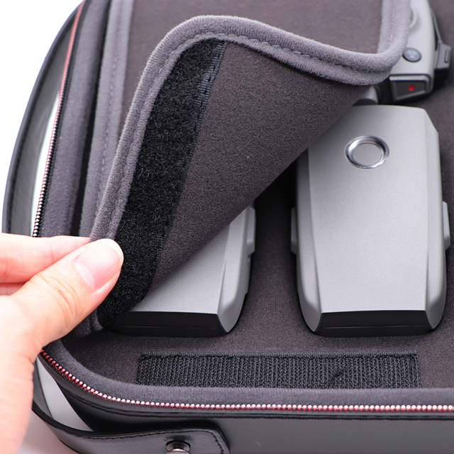 PGYTECH DJI (Export) Mavic 2 Bag Case With Strap For DJI Mavic 2 Pro/Mavic 2 Zoom Drone PU EVA Shoulder Bag Carry Case Box Accessories