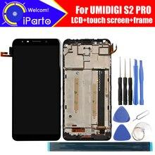 6.0 אינץ UMIDIGI S2 Pro LCD תצוגה + מסך מגע Digitizer + מסגרת עצרת 100% מקורי LCD + מגע Digitizer עבור UMI S2 פרו