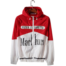 Macho kills smoking windbreaker lovers letters sunscreen coats sportswear printed thin