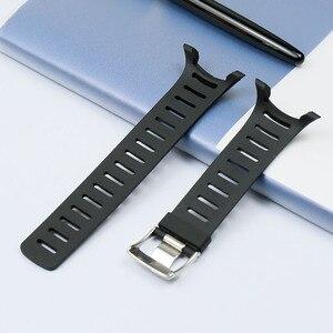 Image 2 - الرجال ساعة بحزام مطّاطي الاكسسوارات T سلسلة ل SUUNTO T1 T1C T3 T3C T3D T4C T4D للماء و sweatproof سيليكون حزام