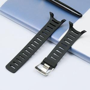 Image 2 - をメンズラバーストラップアクセサリー t シリーズ T1 T1C T3 T3C T3D T4C T4D 防水と sweatproof シリコーンストラップ