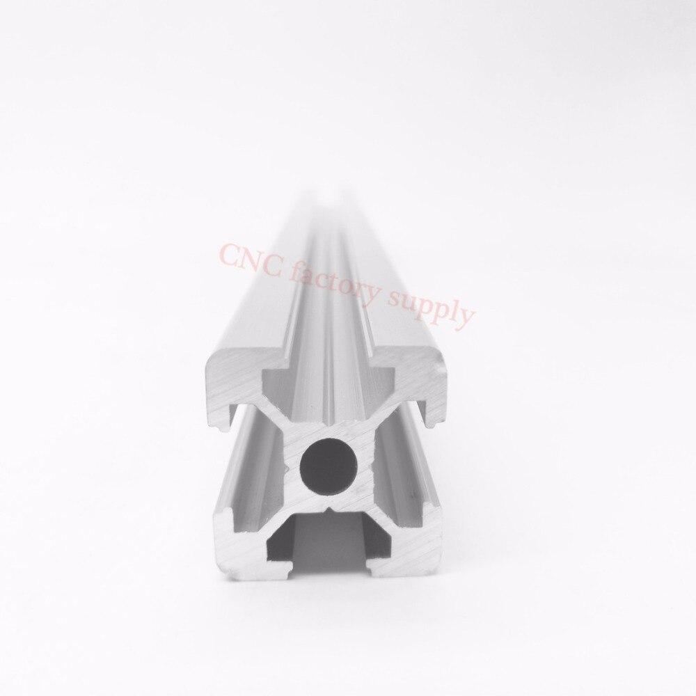 цена на HOT Sale CNC 3D Printer Parts European Standard Anodized Linear Rail Aluminum Profile Extrusion 2020 for DIY 3D printer