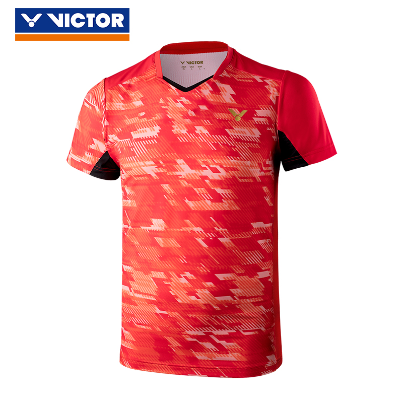 Original New Victor World Championships Korea National Team Competition Badminton Uniform Sport Jersey Clothes 85000 For