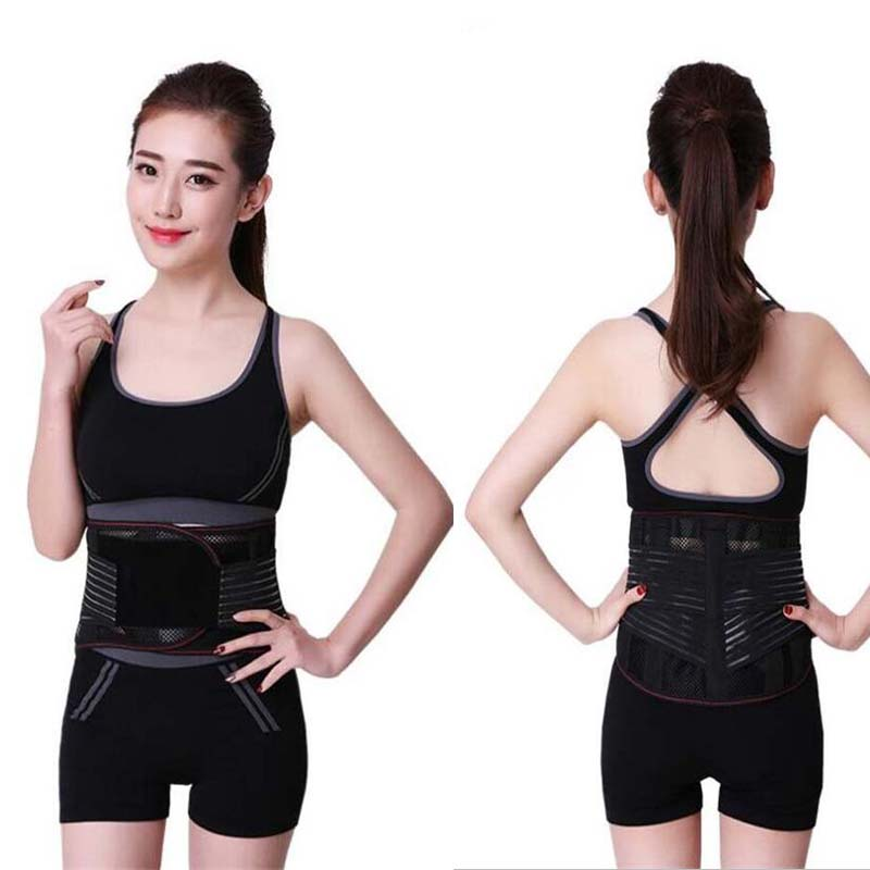 Ajustable Fitness Gym Lumbar Back Waist Supporter Waist Support Brace Protect For Sports Safety Sport Accessories