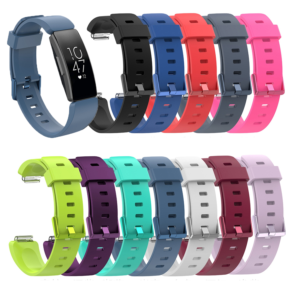 Silicone Wrist Band Strap For Fitbit Inspire / Inspire HR Activity Tracker Smartwatch Replacement Watchband Wrist Strap BraceletSilicone Wrist Band Strap For Fitbit Inspire / Inspire HR Activity Tracker Smartwatch Replacement Watchband Wrist Strap Bracelet