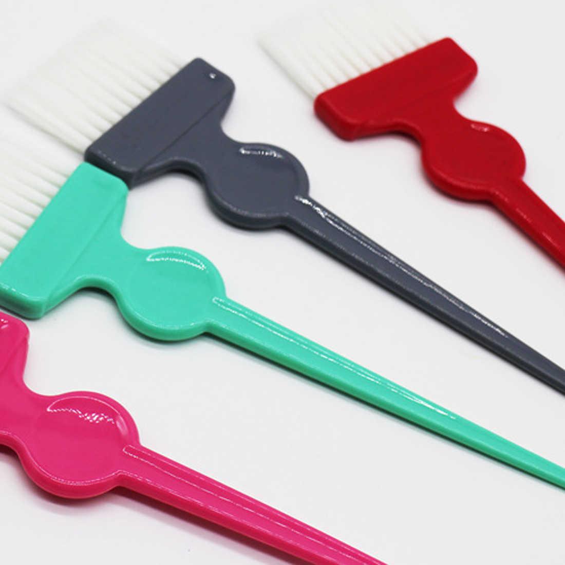 1 шт. Профессиональная стрижка волос, окрашивающая щетка для окрашивания волос, инструменты для укладки волос, цветная щетка для окрашивания волос, двухсторонний инструмент для парикмахерской