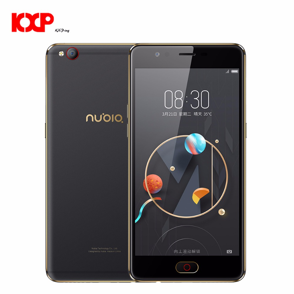 Nubia M2 Lite 4G Phablet 5,5 zoll Android M MTK6750 Octa Core 1,5 GHz 3 GB RAM 64 GB ROM 16.0MP Frontkamera Fingerprint Touch