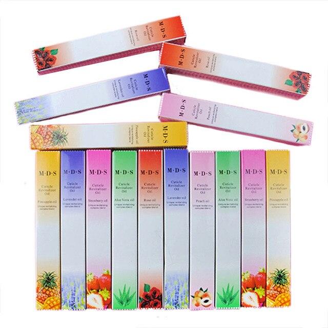 15pcs Cuticle Oil Mixed Flavor Nail Art Tools Revitalizer Treatment Soften Pen