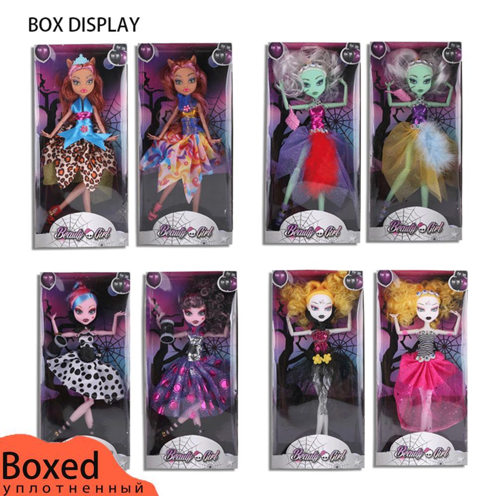 1pcs/set Joint 28cm Monster Toy High Dolls Toy For Girl Educational Doll Bjd Dolls Monster Girls Gift High Original Fashion Doll