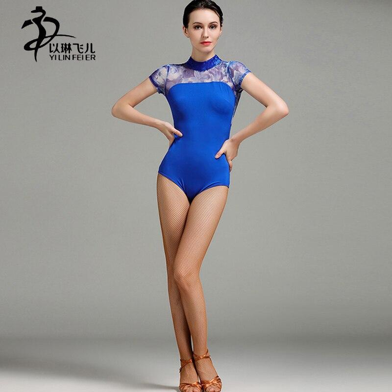 Ballroom/ Latin/ Waltz/ Ballet Leotards For Women Gymnastics Leotard Ice Silk Fabric Leotards For Dance