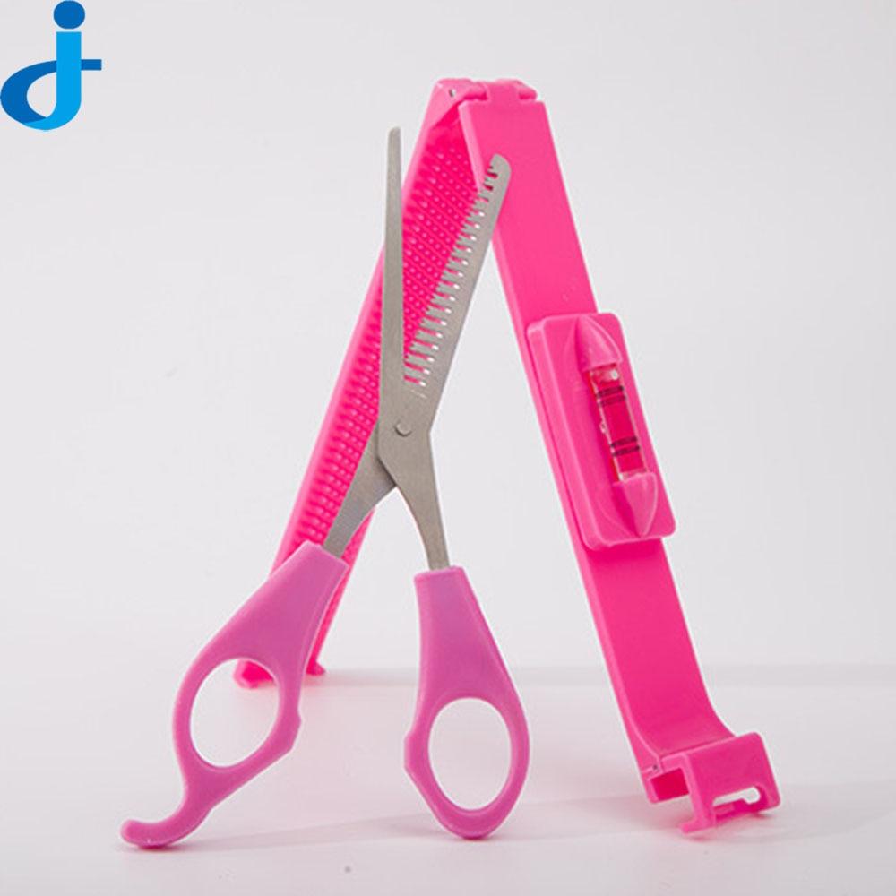 DIY <font><b>Hair</b></font> <font><b>Comb</b></font> With <font><b>Thinning</b></font> Scissors Magic <font><b>Hair</b></font> Cutting Clipper Portable <font><b>Hair</b></font> Trimmer <font><b>Combs</b></font> <font><b>Hair</b></font> Cut Device <font><b>Comb</b></font> 2FX2