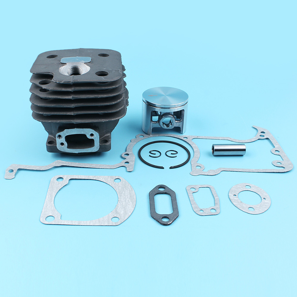 52mm Nikasil Cylinder Piston Crankcase Muffler Gaskets Kit Fit For HUSQVARNA 272 272K 272XP 268 Chainsaw #503 75 81 72 52mm cylinder barrel & piston assembly fits husqvarna 268 272 chainsaw part