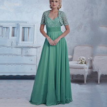 Mint Green Mother of the Bride Pant Suits Plus Size Dresses for with Jacket Lace Gowns Vestido Mae Da Noiva
