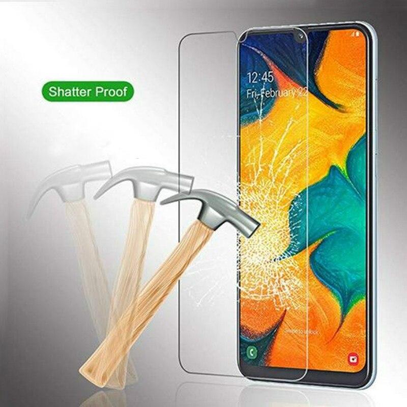 Schermbeschermer Tempered Glass For Samsung Galaxy A90 A80 A70 A60 A50 A40 A30 A20 A10 M30 M20 Screenprotector Glas Verre Tremp