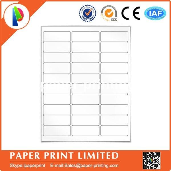 US $26 13 6% OFF|100 Sheets 30 UP Address Labels 1