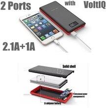 Pineng 20000 мАч Power Bank 20000 мАч PN-969 Портативное Зарядное Устройство 2.1A Умный Быстрая Зарядка 2 Порта для iPhone Samsung Xiaomi Huawei