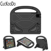 CucKooDo Light Weight Shock Proof Handle Friendly Stand Kid Proof Case For IPad Mini 4 IPad