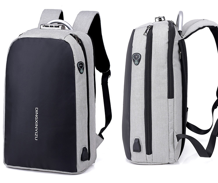 HTB1CYldXtfvK1RjSspoq6zfNpXaG - New Teenager Campus backpack Student multifunctional anti-theft