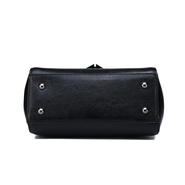 Toposhine 2018 Autumn New Top Quality PU Leather Women Handbag Solid Vintage Design Mochila Female Shoulder Bags Fashion Zipper