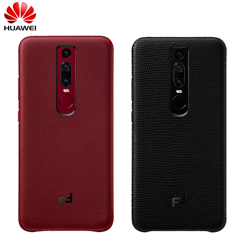 Original Official HUAWEI Mate RS Huawei Design Genuine Leather Back Cover Case Hard PC Shell with