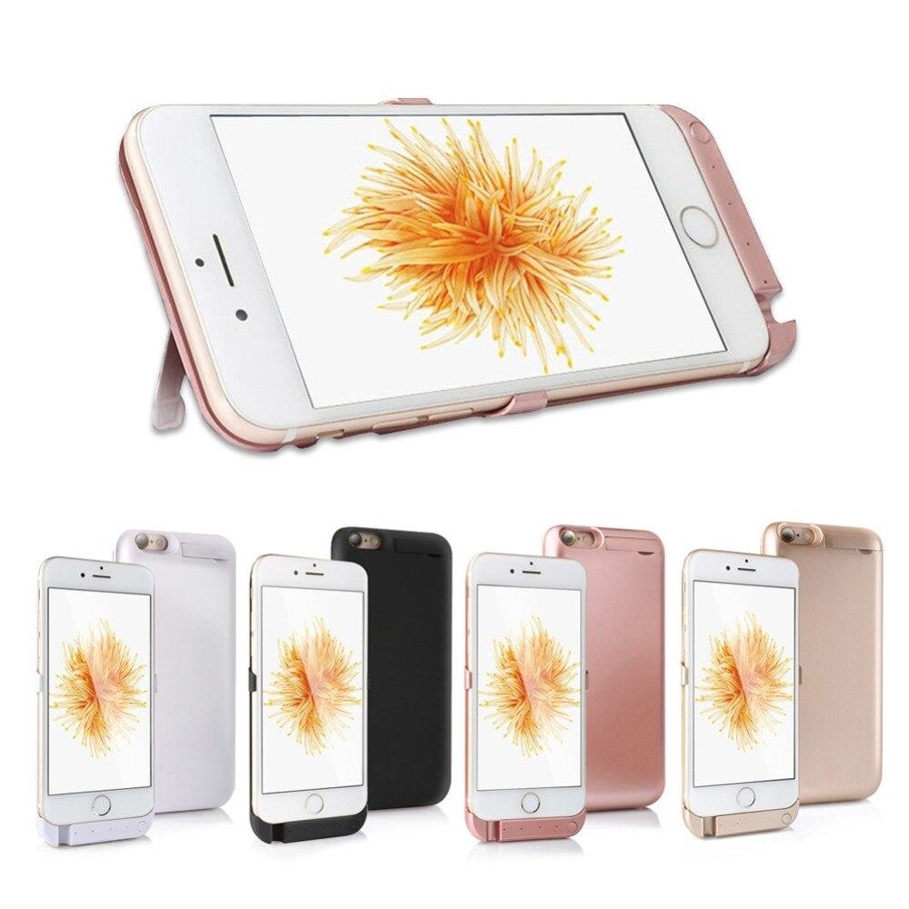 5000 mAh Batterie Chargeur Cas pour iphone 6 6 s Batterie De Secours Externe cas Power Bank Charge de Cas de Couverture pour l'iphone 6 s 4.7 pouces