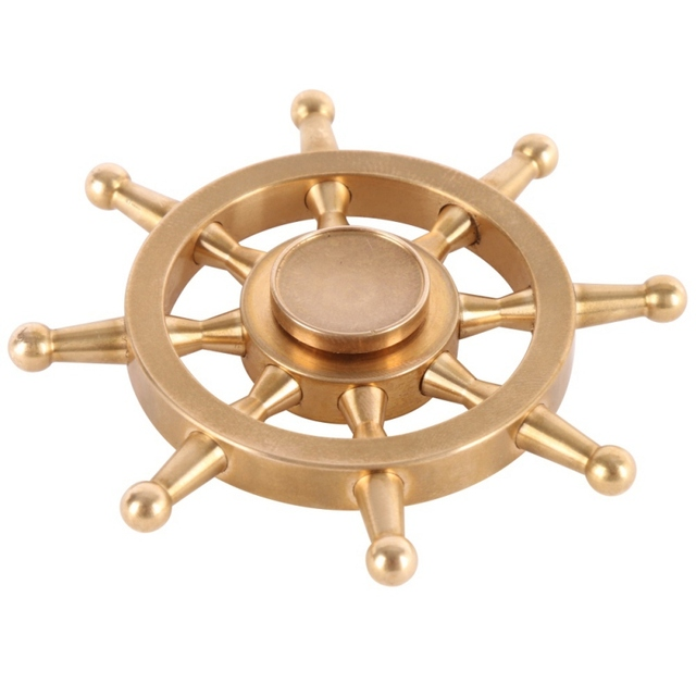 Game of Thrones Pure Copper Paddle Finger Spinner Toy