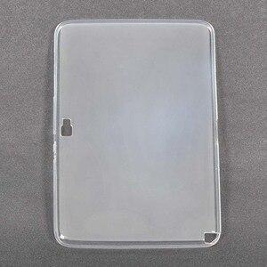 Мягкий чехол из ТПУ для Samsung Galaxy Note 10,1, чехол для Samsung Galaxy Note 10,1 N8000 N8010 10,1 дюймов, чехол для планшета + стилус