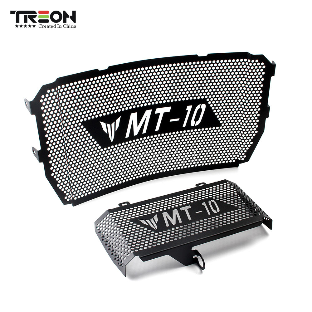 For YAMAHA MT10 MT 10 2016 2017 2018 2019 Radiator Grille Guard Protective Cover Tank Net