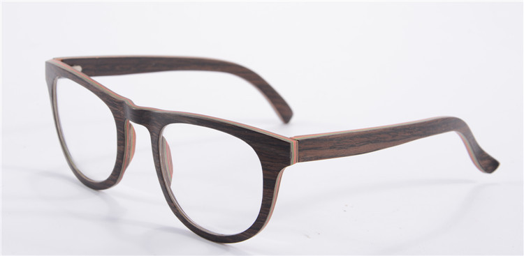 black frame glasses high quality luxury myopia glasses frame women eyeglasses round vintage glass 68045