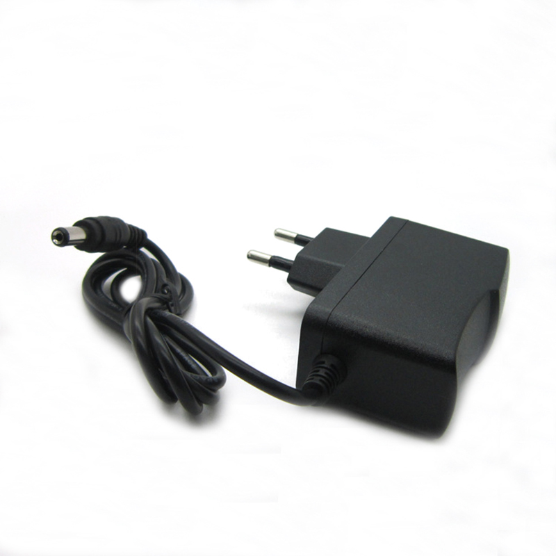 AC DC power adapter 12V 1A 1000MA 12W Converter Adapter Charger DC5.5*2.1mm Plastic case LED driver wall-mounted with EU plug