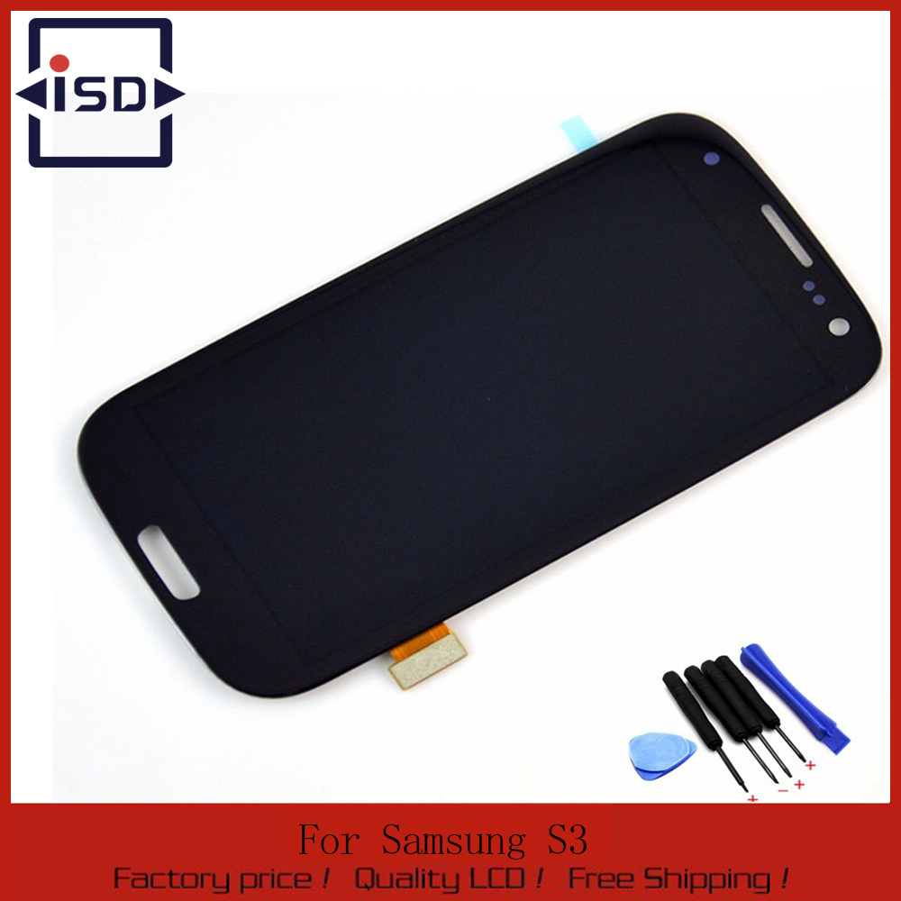 ФОТО For Samsung Galaxy S3 i9300 lcd with Digitizer Display Touch Screen Assembly + tools , Black Free shipping !!!