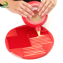 DIY Cake Decorating Tools Homemade Non-stick Silicone Stick Pan Chocolate Cookie Biscuit Bar Mold To Make 30 Sticks In 5 Minutes trendy non stick diy ornament