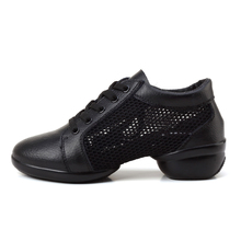 Maultby Women Black Dance Shoes Jazz Hip Hop Shoes Sneakers for Woman Platform Dancing Ladies Shoes #DS4608B