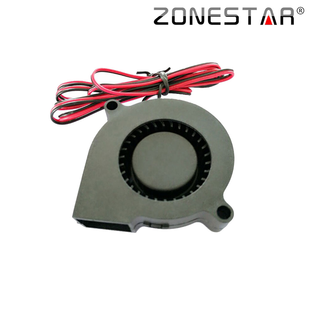 ZONESTAR 50mmX50mmX10mm Blowing Fan Extruder Cooling Fan Printer Fan Fan DC12V 3D Parts Accessories Printer