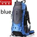 60L Outdoor Backpack Unisex Climbing knapsack Waterproof Nylon Travel Sport Mountaineering Bag Zipper Hiking Rucksack Backpacker