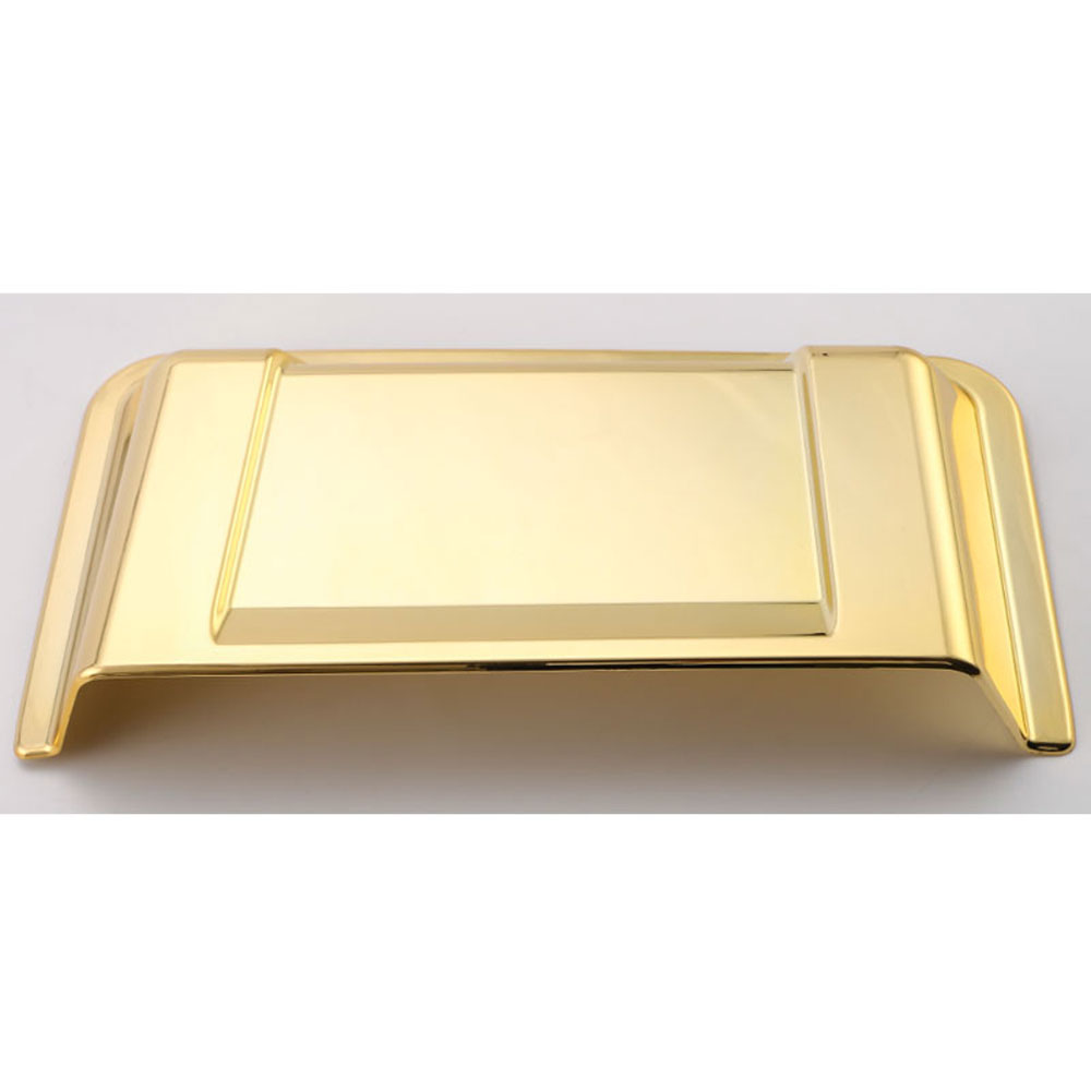 ABS Car Gold Hood Vent Cowl Scoop Cover Panel Trim Frame ...