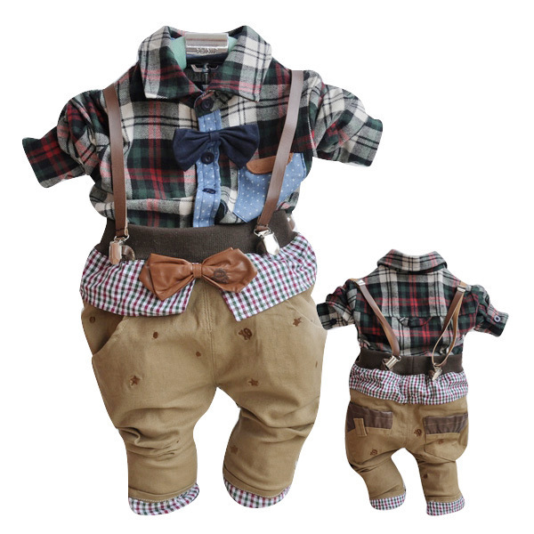 Anlencool 2017 Special Offer Sale Roupas Meninos Free Shipping Newborn Baby Two Pieces Clothing Set Boy Clothes New Spring