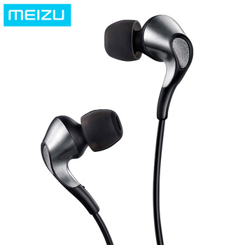 Meizu Flow Triple Driver In-Ear Earphone HIFI hybrid Earbuds High fidelity headset with Mic and Remote for Meizu Pro 7 phone Наушники