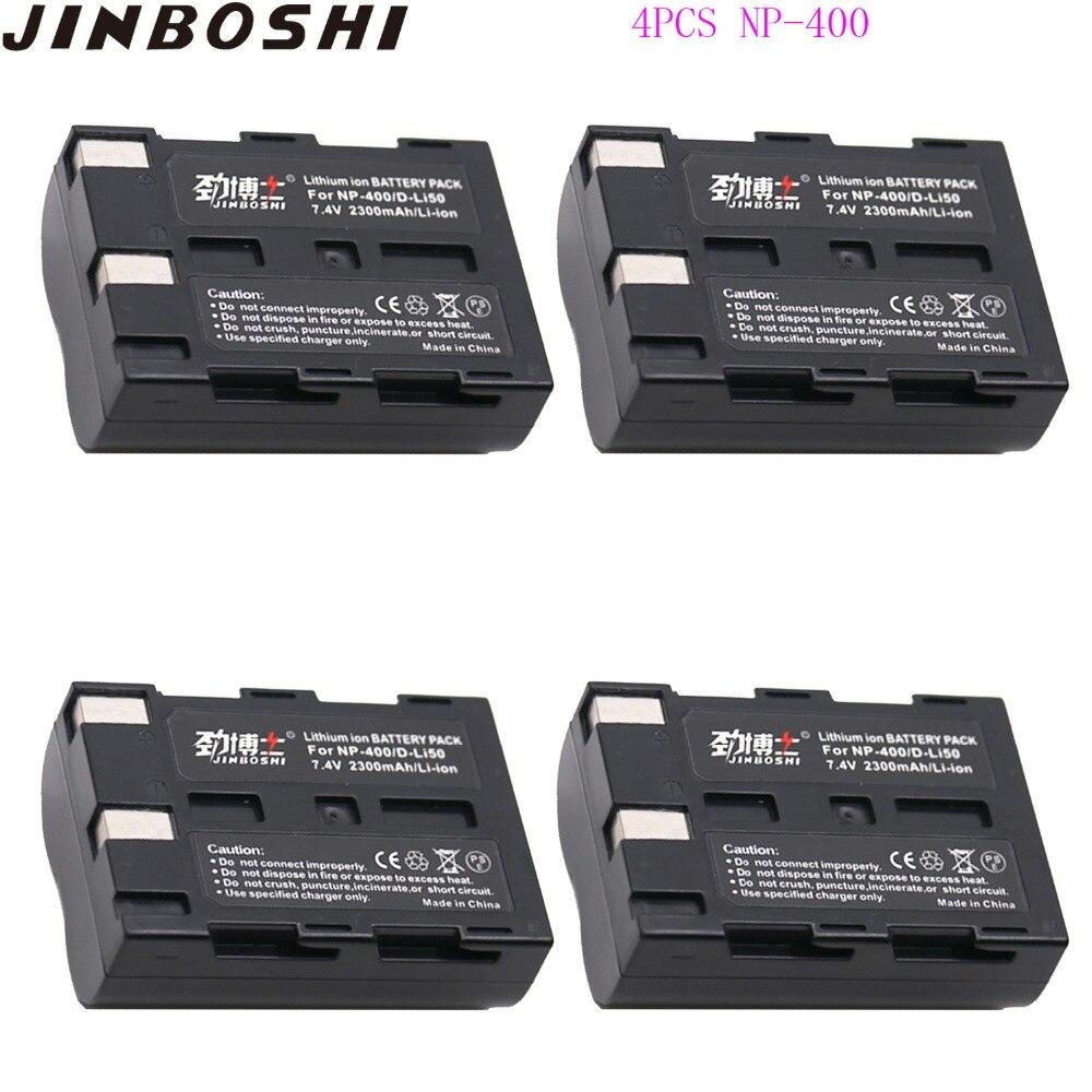 NP-400 Cargador De Batería D-Li50 para Konica Minolta Dynax 7D Maxxum 5D Dimage A1 A2