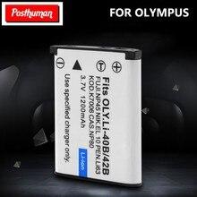 Оригинальный аккумулятор Nikon для камеры, перезаряжаемый аккумулятор 3,7 В, 1,2 А/ч, для Olympus Leise/Fuji/NP45, литий-полимерный аккумулятор для камеры 40B/...